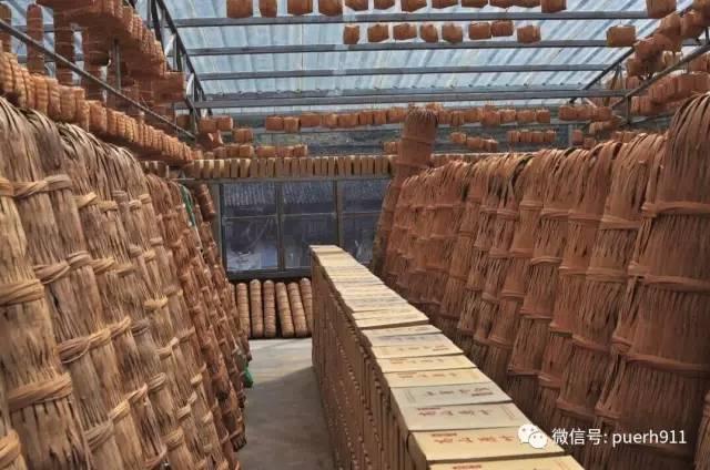 中国黑茶的加工工艺